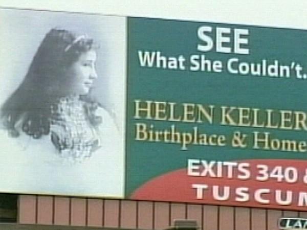Helen Keller Billboard 1