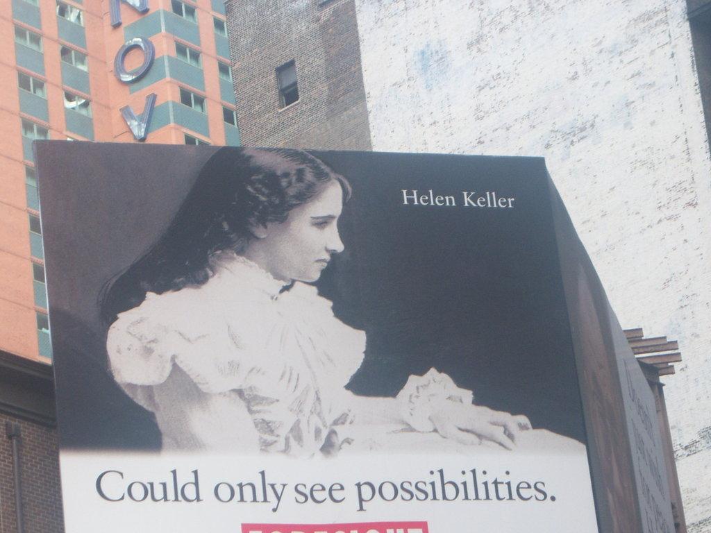 Helen Keller Billboard 2