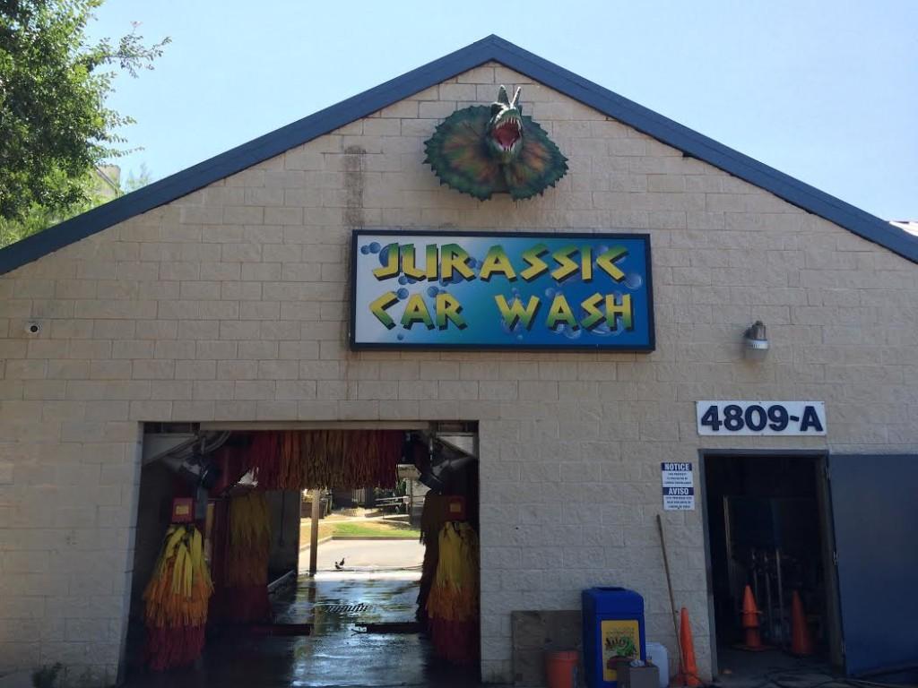 jurassiccarwash